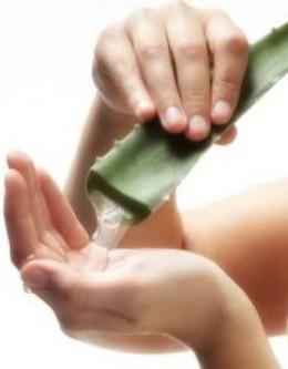 Aloe Vera to remove age spots