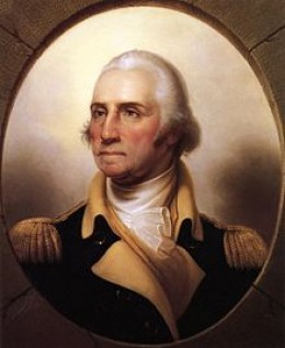 PRESIDENT GEORGE WASHINGTON, NO PARTY