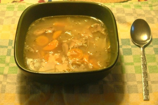 mm mm good turkey soup