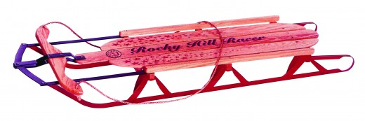Rocky Hill Snow Sled
