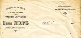An old letterhead