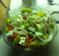 Greek Salad Without Lettuce Recipe