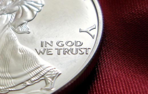 In God We Trust - Not Our Wealth