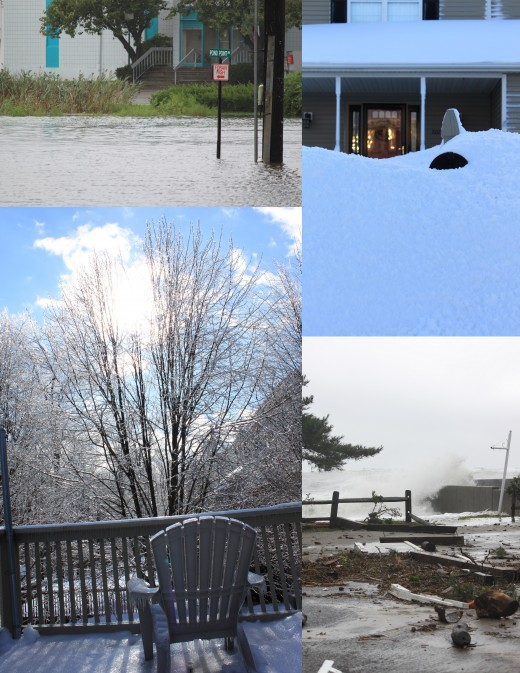 Images from extreme weather events that have affected CT in 2011 from blizzards, to ice storms, flooding and hurricanes!