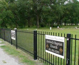 The Antioch Baptist Church has maintained the cemetery grounds since it was designated for burials in 1929.