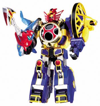 """Power Rangers Megazord."""