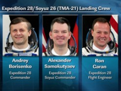 International Space Station Crew Return to Earth: How will gravity effect them?