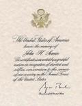 Presidential Memorial Certificate for Deceased Veterans - Information on Application Process