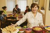 MANY RESTAURANTS FEATURE A GRACIOUS HOSTESS WHO HELPS YOU FIND YOUR WAY AROUND THEIR ALL-YOU-CAN-EAT-BUFFET.