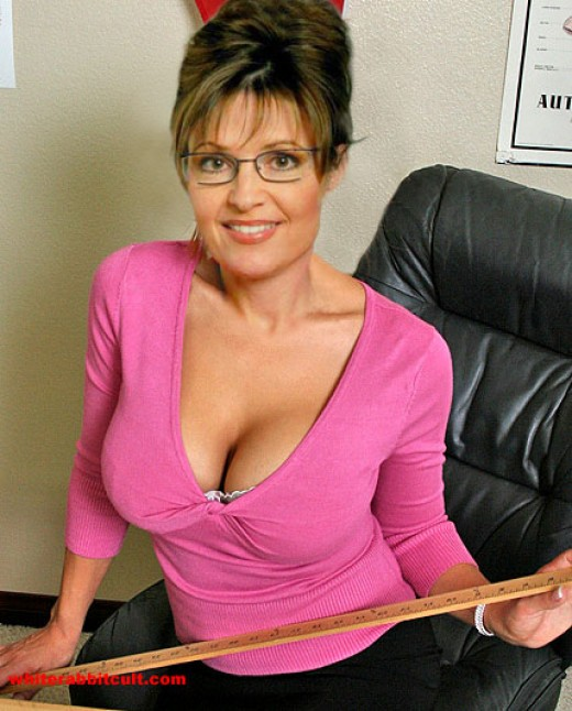 Sarah Palin isn't that innocent, is she?
