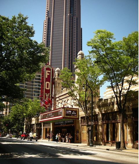 The Fabulous Fox Theater in Midtown Atlanta