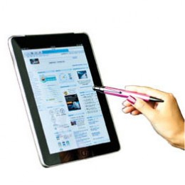 Stylus in use on Tablet Screen