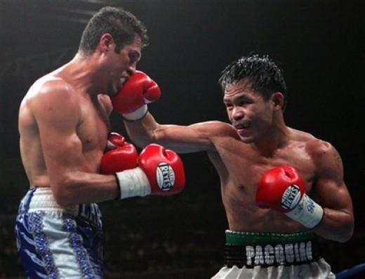 Manny Pacquiao V.S. Oscar Larios