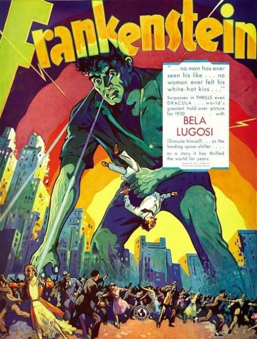 Lugosi billed as Freankenstein's monster