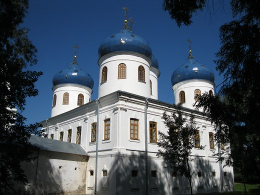Yuryev (St. George) Monastery outside of Veliky Novgorod