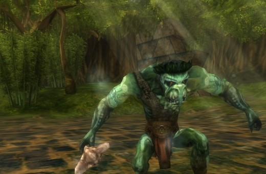 There are various sub-races of most humanoids in Xen'drik, including trolls.