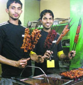 Have you tried seekh kebabs at Khan Chacha's Kebab Corner. Roomali roll is my favorite at Khan Chacha.