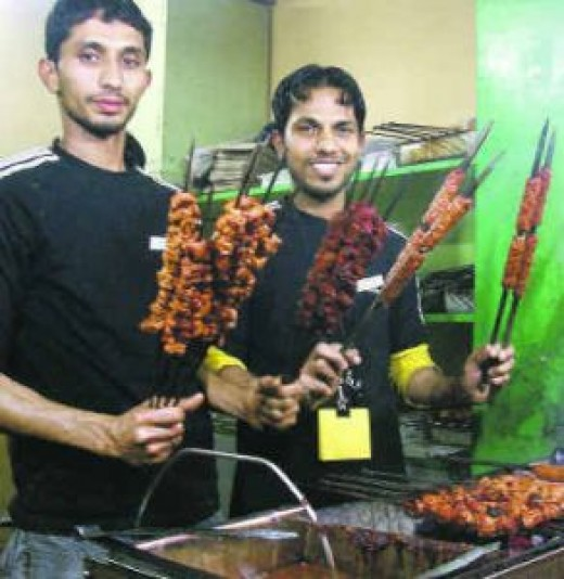 Have you tried seekh kebabs at Khan Chacha's Kebab Corner. Roomali roll is my favorite at Khan Chacha.