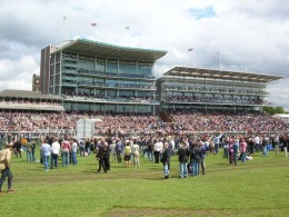 An Image of the Grandstand at York Races
