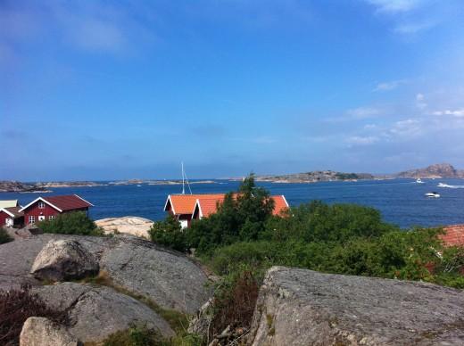 Veiw from St Gorans Island
