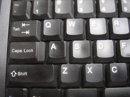 """A"" key from a T42 Thinkpad"