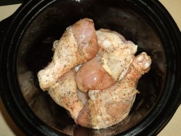 Herb Covered Chicken in the Slow Cooker