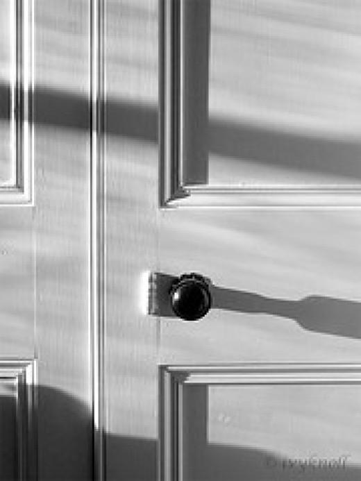 A closed door from ivyknoll Source: flickr.com
