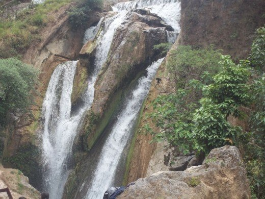 The Scenic Beauty of Bhatta Falls