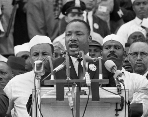 "Martin Luther King, Jr. ""I have a dream"""