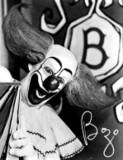 A MASTER OF LAUGHTER, BOZO THE CLOWN. OFTEN IMITATED, BUT NEVER DUPLICATED.