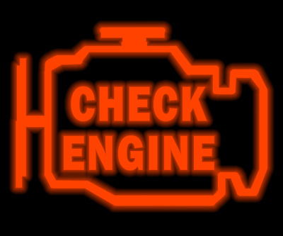 Typical Check Engine Light