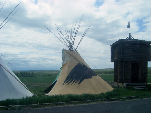 The Crow lands are considered the Teepee Capital of the World.