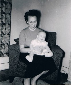 Baby Susan with Mom