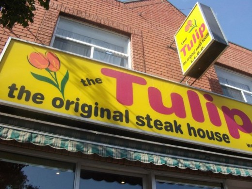 The Tulip Steak House in Toronto