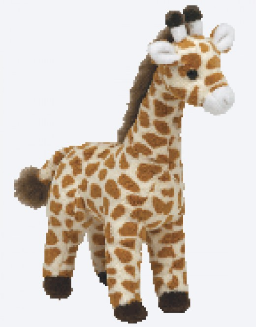 """Topper"" the Giraffe"