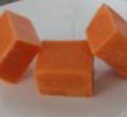 Heavenly orange marshmallows.