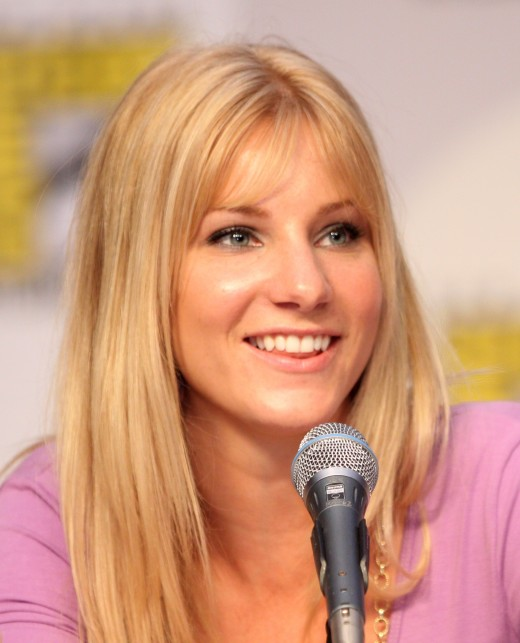 Heather Morris at ComicCon in San Diego, 2010.