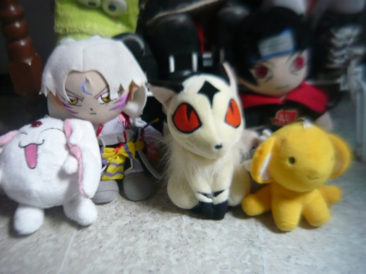These cute anime characters make great plush gifts for anime fans and lovers.