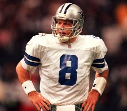 Dallas Cowboys No. 8 Troy Aikman
