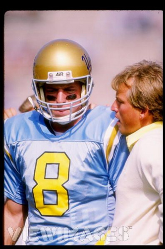 Troy Aikman and Rick Neuheisel, UCLA Bruins