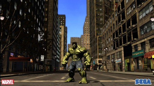 Incredible Hulk Video Game Screenshots