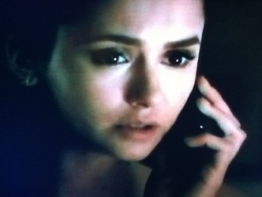 Stefan calls Elena on her birthday, giving Elena the chance to tell him that she loves him and he will be okay.
