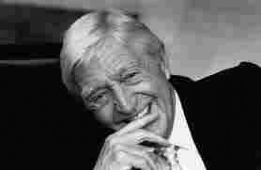 "Michael Parkinson.  Retired but won't lie down.  Meg Ryan called him a ""nut,"" and he upset Ali."