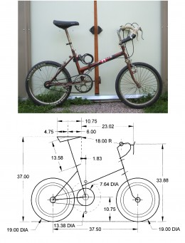 Folding Bike Set-up