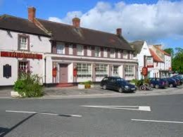 The Angel on the High Street, a friendly, popular public house worth a look-in