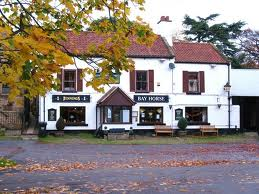 The Bay Horse on Low Green by the roadside opposite...