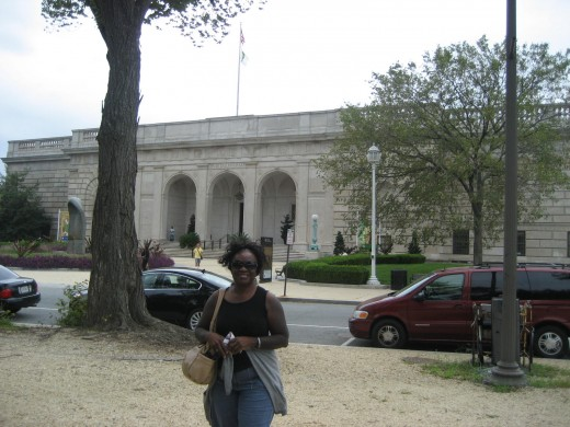 Me on the Smithsonian grounds