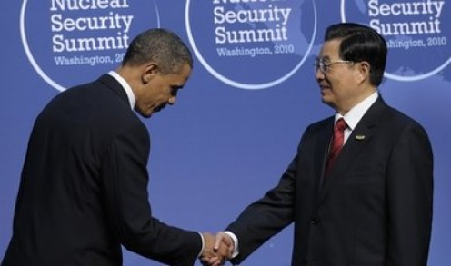 Obama and the Chinese PM