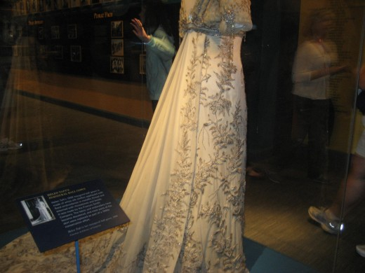 Can't remember whose this is, but this is an inaugural gown of another first lady