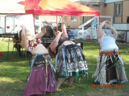 That was Saturday when we were dancing